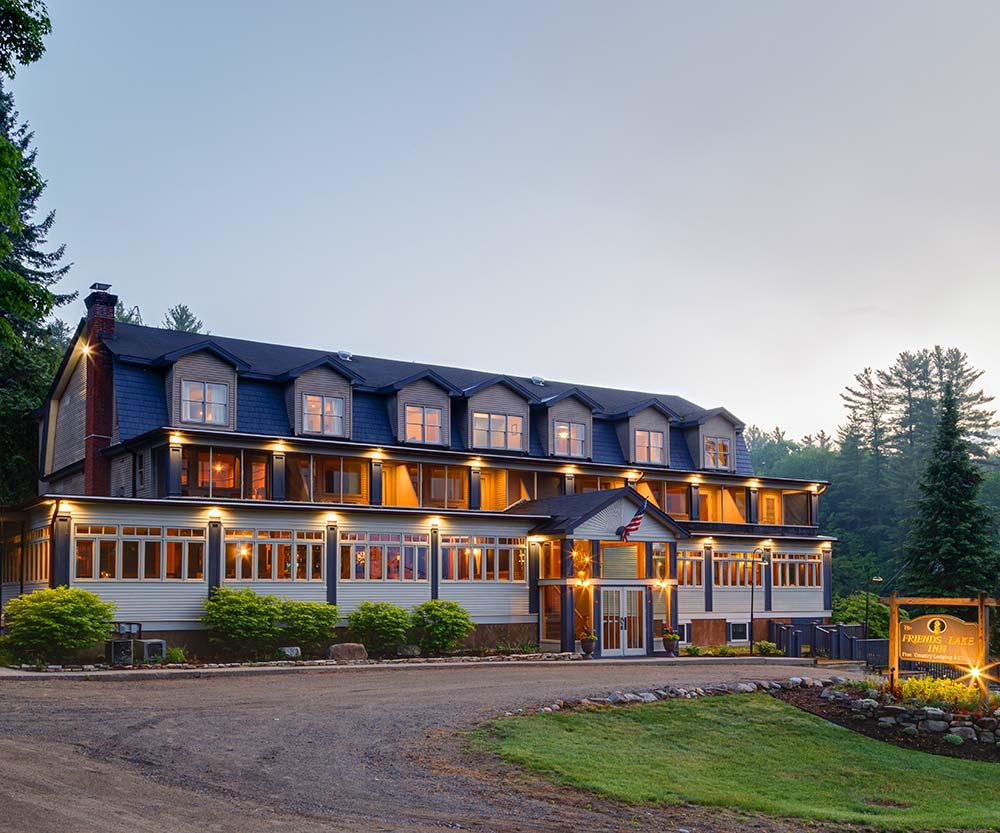 Adirondack Wedding Venue at Friends Lake Inn