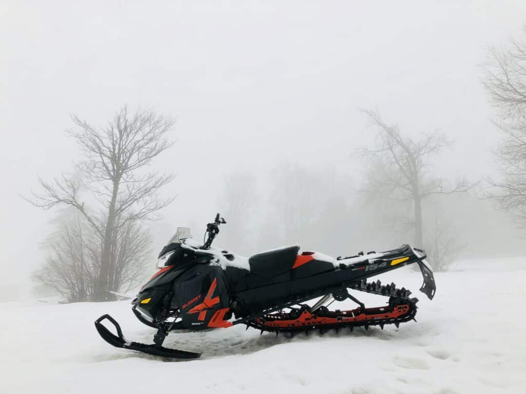 the best place for snowmobiles in NY in the Adirondacks
