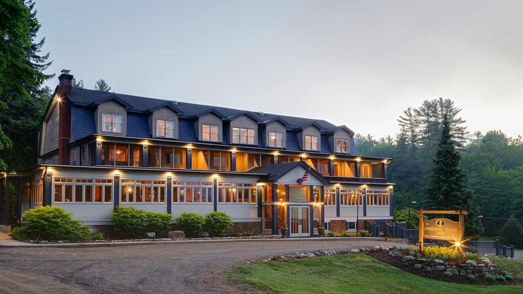 Relax and unwind at Friends Lake Inn after enjoying all of the fun things to do near LAke George
