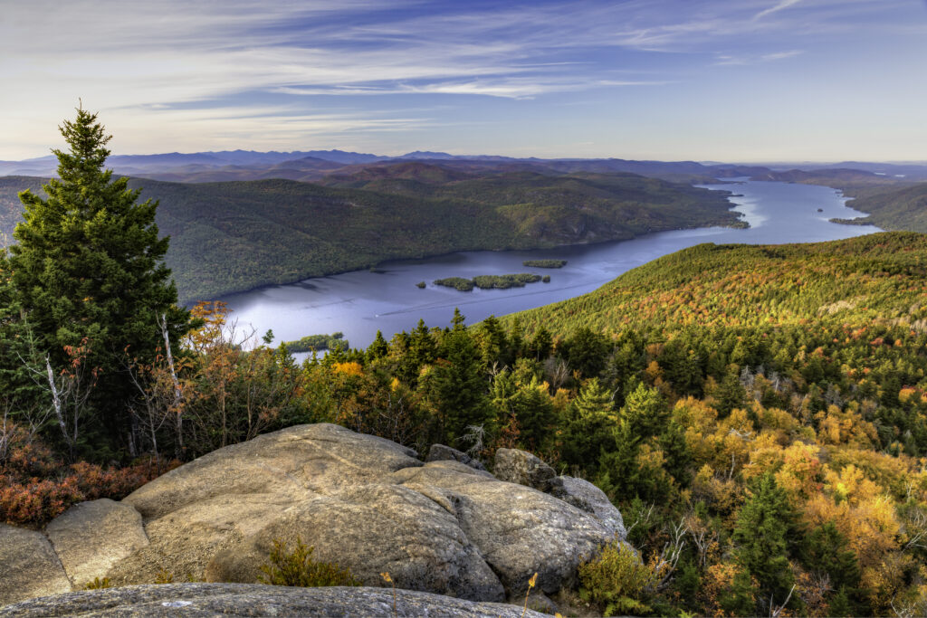 Hiking is one of the most popular things to do near lake George