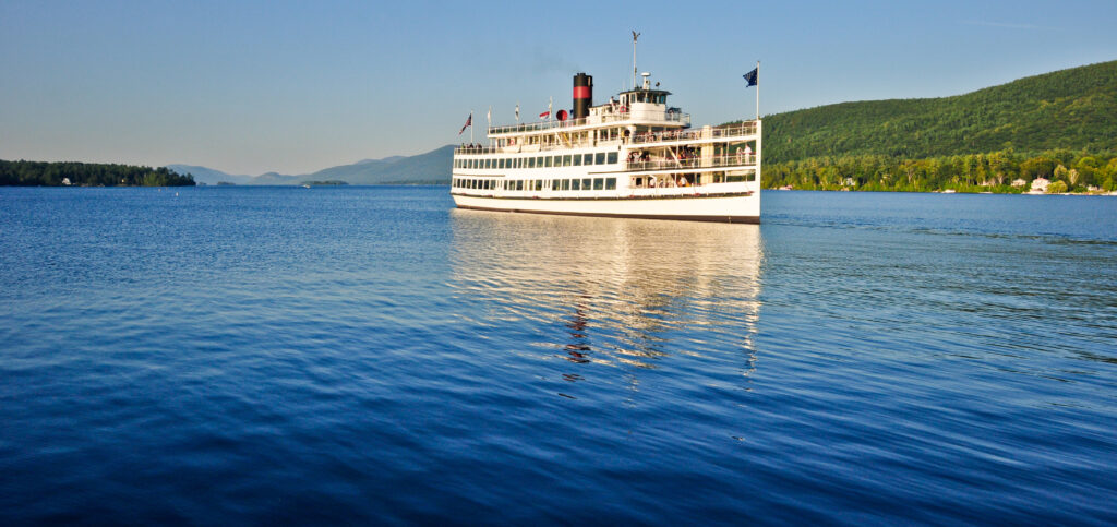 Take a cruise on the lake is one of the best things to do near lake george