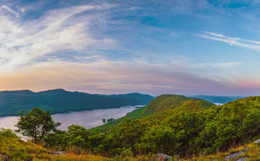 Work up a sweat on the beautiful lake george hiking trails in the Adirondacks