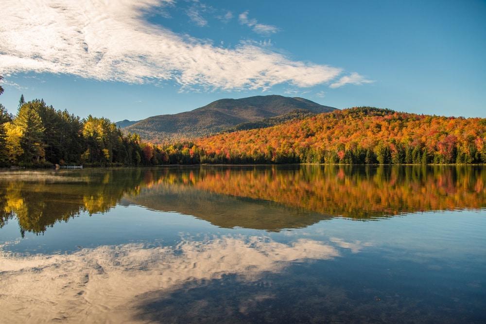 Stunning views of Adirondacks fall foliage near our upstate New York hotel