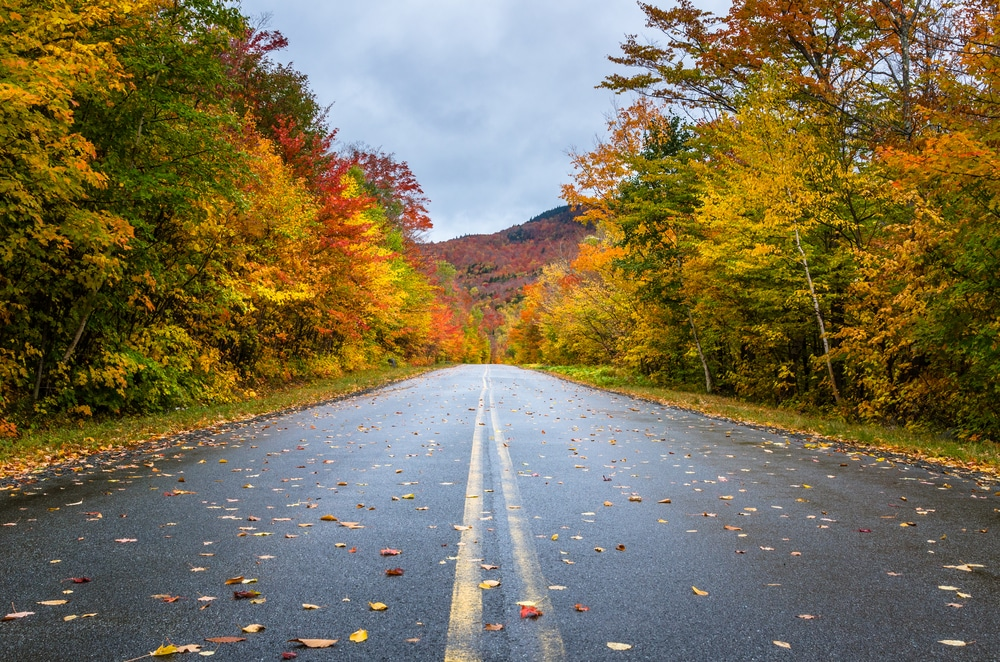 Scenic drives are a great way to see Adirondacks fall foliage near our hotel